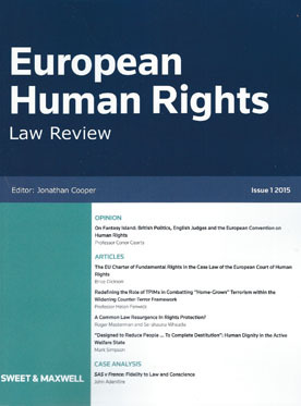 """The Advocate General; EU adversarial procedure; accession to the ECHR"""