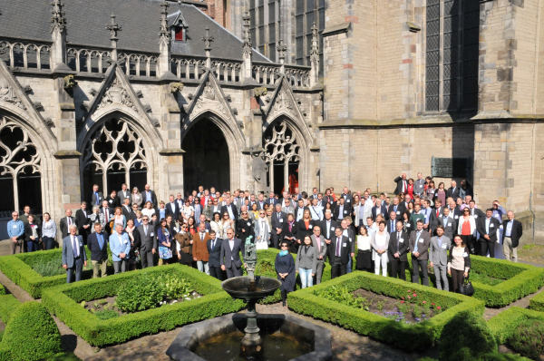 Prof. Hall Presents Research Findings to Police, Prosecutors and Judges in Utrecht