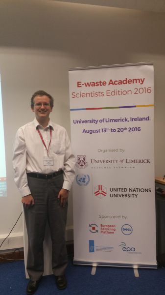 Prof. Hall discusses green criminology and e-waste in Limerick