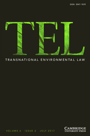 The Use of 'Macro' legal analysis in the Understanding and Development of Global Environmental Governance