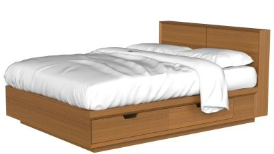 Facet Bed