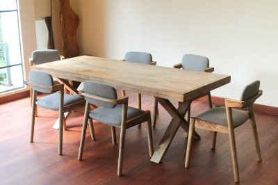 Cross Dining Set