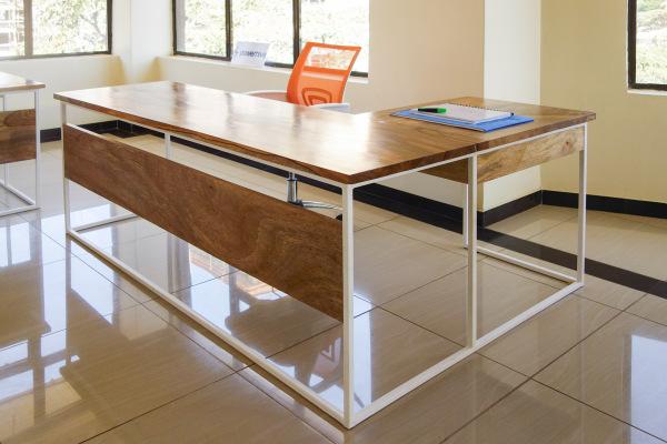 Draft L-Shape Desk