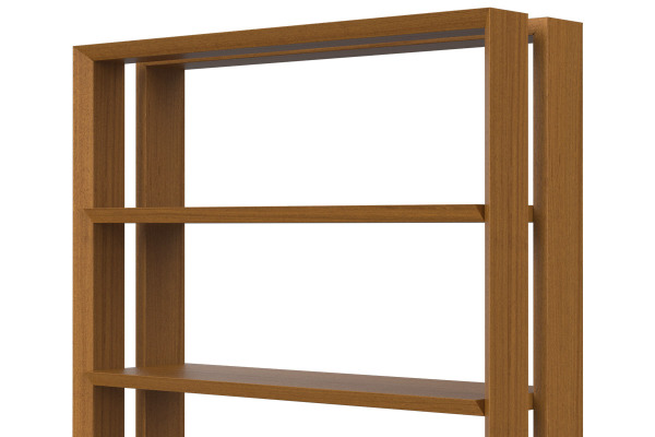 Facet Bookshelf, Furniture Made in Kenya