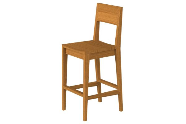 Habitation Bar Stool, Furniture Made in Kenya