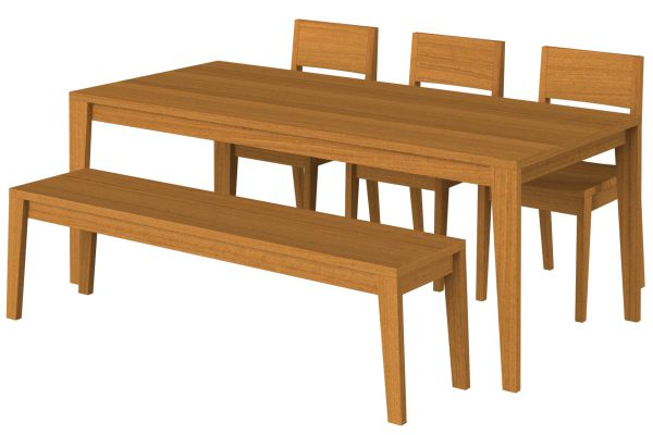 Habitation  Dining Set- Furniture made in Kenya
