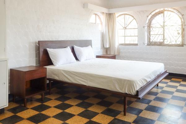 Rise Bed & Bedsides
