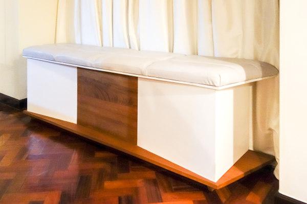 Storage Bench, Furniture Made in Kenya