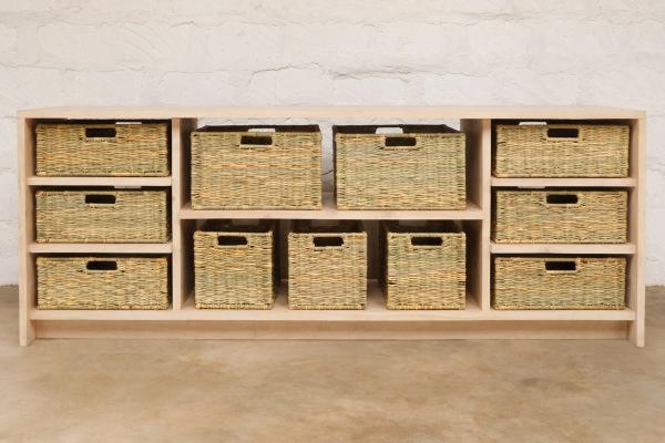 Basket Storage Unit, Furniture Made in Kenya