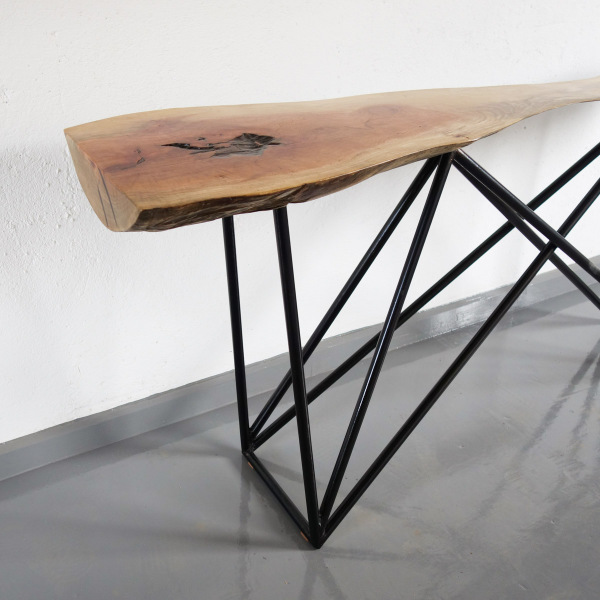 Prism Console Table Neem