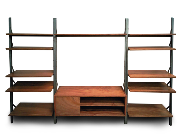 Ladder Entertainment Unit, Furniture Made in Kenya