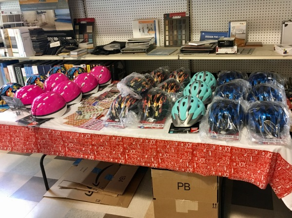 Helmets for Foster Children