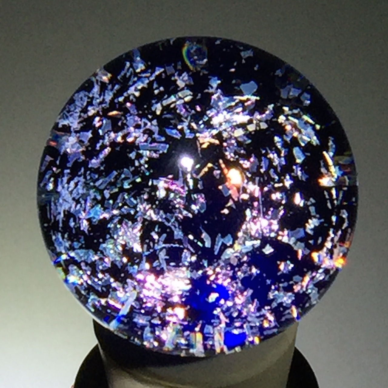 Purple Galaxy Winestopper
