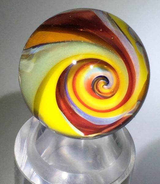 Summer Sunshine Vortex Marble