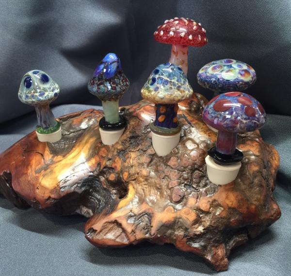 Mushroom Wine Stoppers