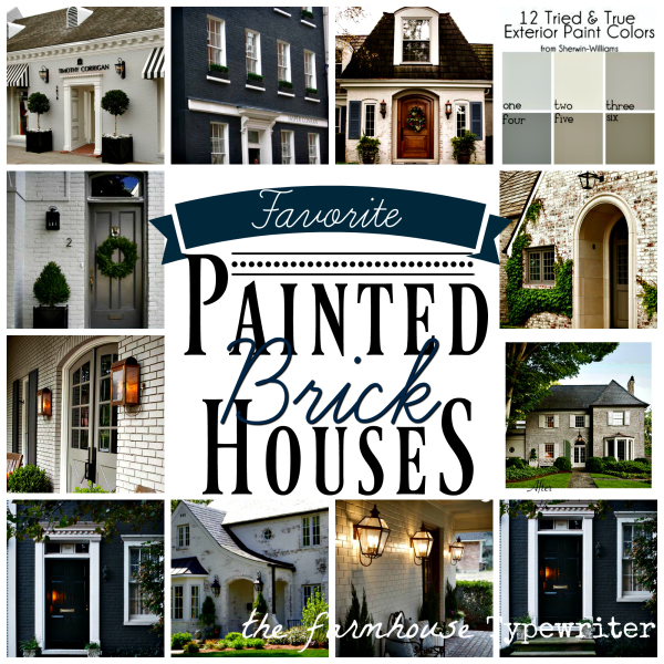 Best painted brick houses to inspire and covet