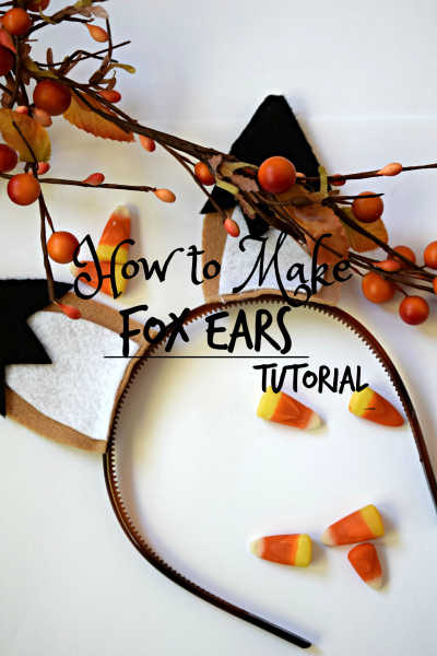 looking for a fun fall activity? Make these adorable fox ears