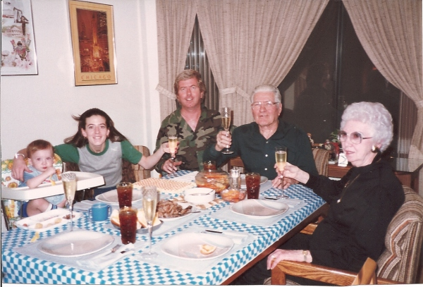 Chayne, Sandy, me and my parents