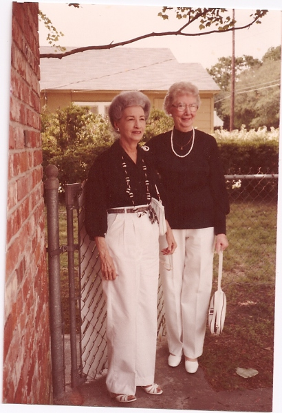 Nell Clark and my mom