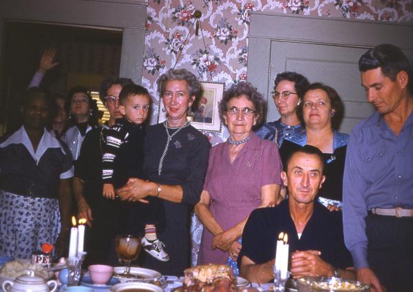 At Mama's house