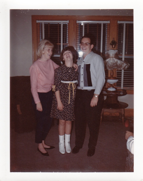Aunt Betty, Kim and Uncle Brian