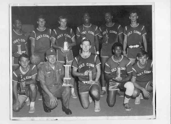 1883 Comm Squadron Basketball Team, Phu Cat, Vietnam