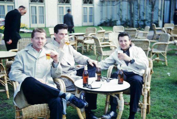 Me, Lowell Moore and Chuck Miller in Tivoli Gardens in Copenhagen