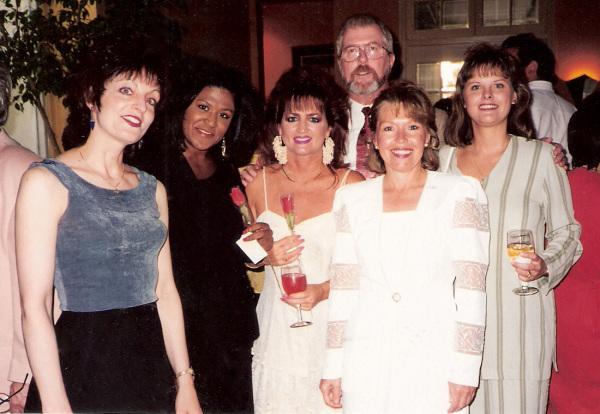 Suzanne, Karen, Susan, me, Carolyn, Kim  1995