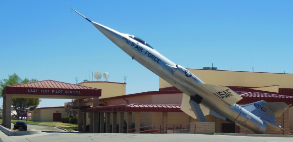 F-104 at Edwards AFB
