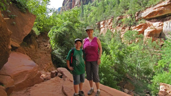 Mickey & Kim at Zion National Park