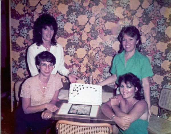 Cheryl, Jane, Carolyn and Susan