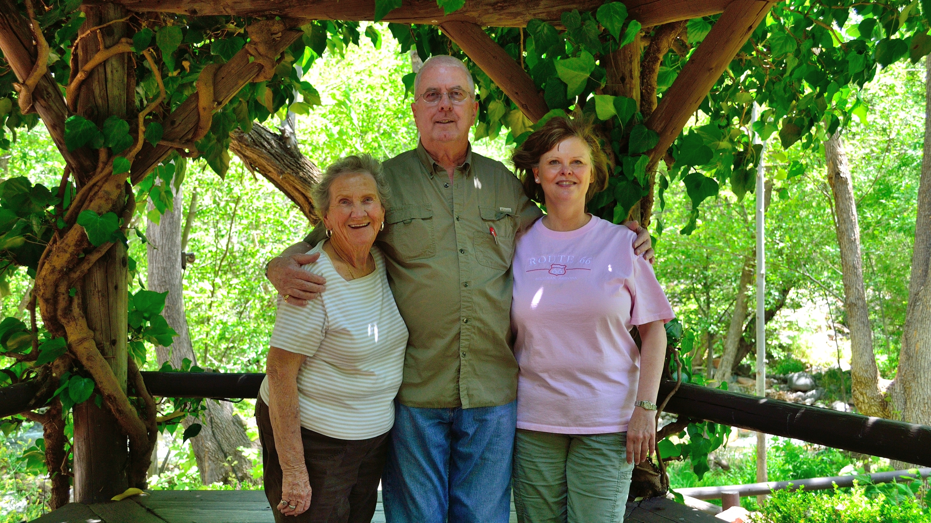 Barbara, me & Kim