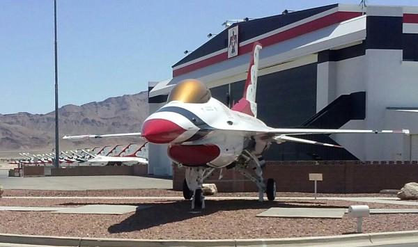 Thunderbird Hangar- Nellis AFB