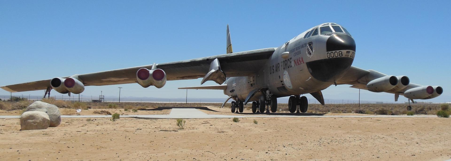 B-52 at Edwards AFB