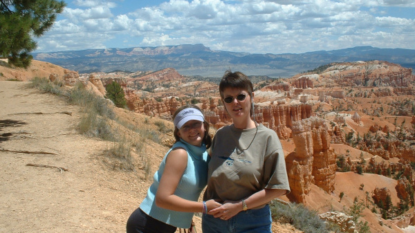 Samantha and Kim at Bryce Canyon