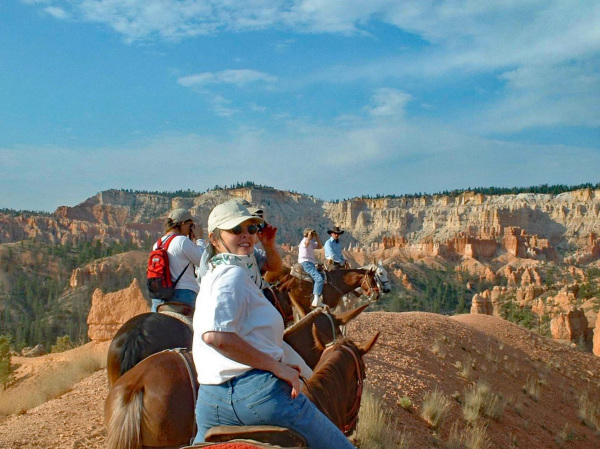 Kim at Bryce Canyon