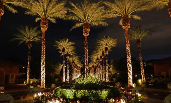 Entrance to Westin, Lake Las Vegas