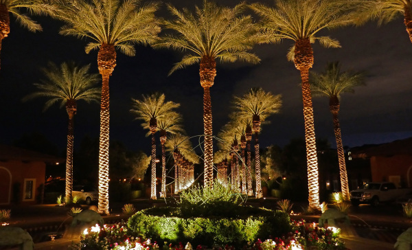 Entrance to Westin, Lake Las Vegas