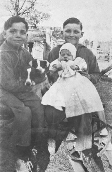 Uncle Glenn, Dad & Uncle Jim