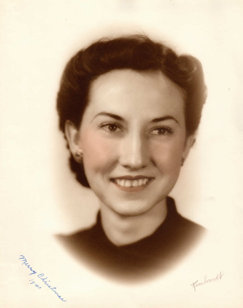 1940-  Helen Huckabay-  My mom