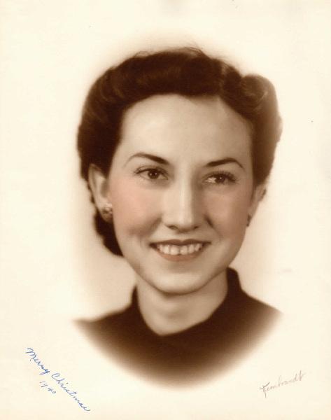 1940-  Helen Huckabay-  My mom