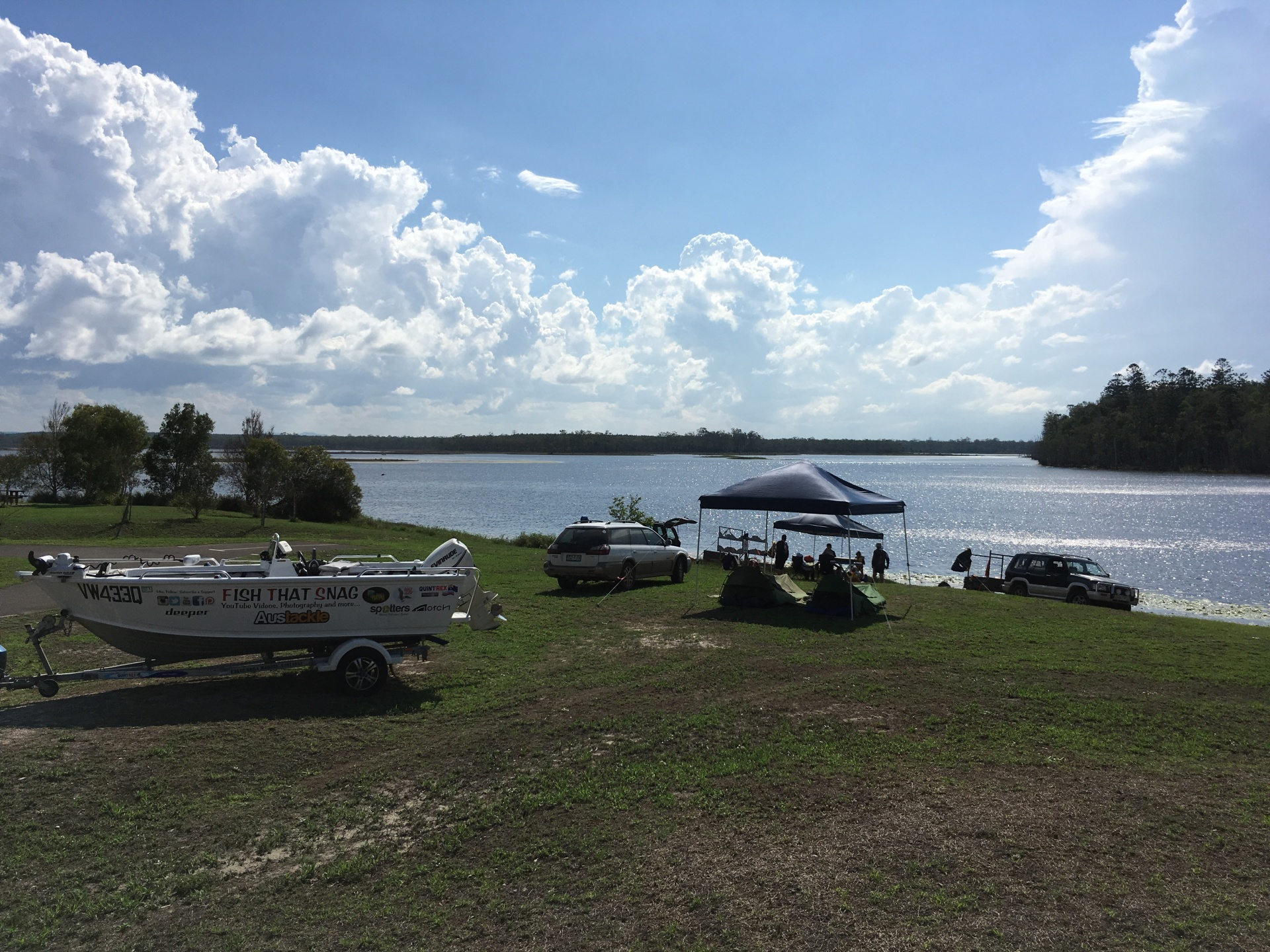 Camping at Lake Lenthall