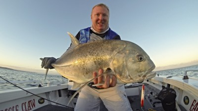 Giant Trevally taken on the Surface
