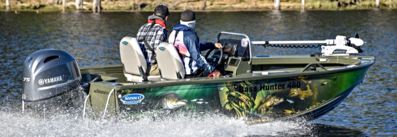 Stessco Bass Hunter boating boatinglife