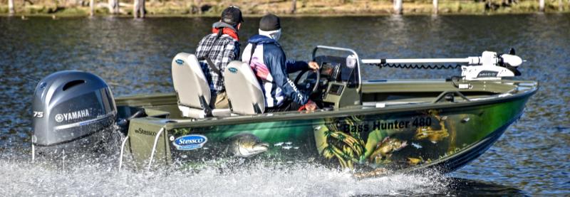 Stessco Bass Hunter boating boatinglife