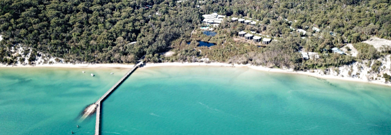 fraser island resort accomodation boating guide