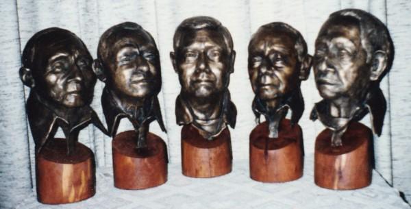 Last Five Kaw Indians