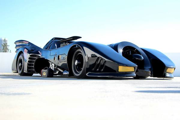 Dons Lock And Keys Batmobile