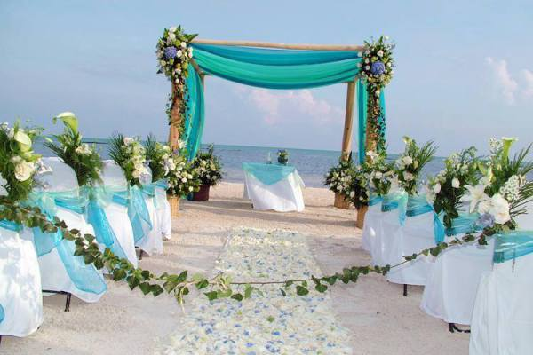 One of our favourite beach weddings