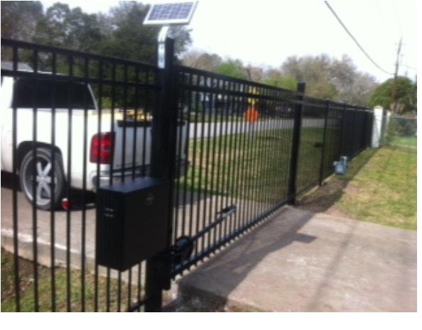 Solar Automatic Gate